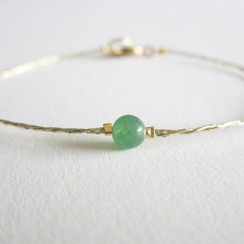 Anklet Bracelet Red String Greek Gold Jade Chinese Good Luck Prosperity Anklets Bracelets A B