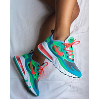 Nike Air Max 270 React sports and leisure running shoes