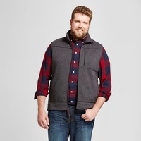 Men's Big & Tall Standard Fit Sweater Fleece Vest - Goodfellow & Co™