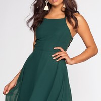 Roxy Dress - Hunter