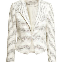 Textured-weave Jacket - from H&M