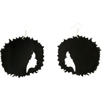 Fro-Tastic Afro earrings I Natural hair earrings | Afrocentric earrings | jewelry | accessories