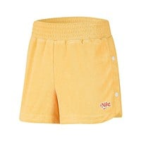 Nike Women's NSW Retro Femme Terry Cropped Crew Topaz Gold  Shorts