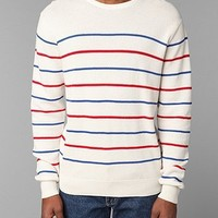 Shades Of Grey By Micah Cohen  Sailor Striped Crewneck Sweater