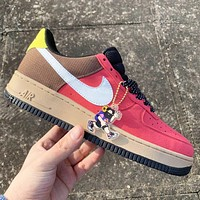 Nike Air force 1 Low Barely Volt Fashion New Hook Women Men Sports Leisure Running Shoes