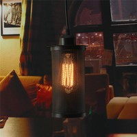 Lowest Price Vintage Retro Industrial Ceiling Lamp Edison Bulb Chandelier Pendant Hanging Lampshade Lighting Fixture AC110-240V