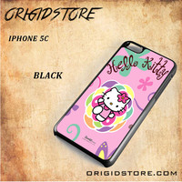 hello kitty 2 For Iphone 5C Case - Gift Present Multiple Choice
