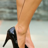 Center Of Attention Heels-Black
