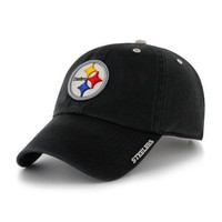 Pittsburgh Steelers Men NFL Classic 47 Brand Ice Strapback Hat Cap Licensed New