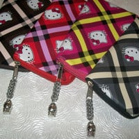 Hello Kitty Pouches by Charms2Chainmaille on Etsy