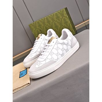 Gucci2021 Men Fashion Boots fashionable Casual leather Breathable Sneakers Running Shoes0602pp