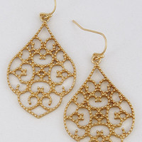 Antique Cut Out Earrings