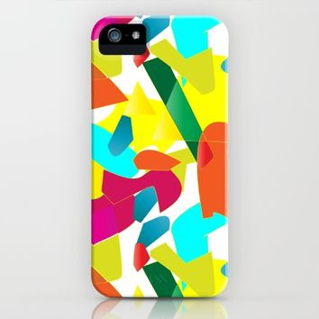Colorful Mood iPhone & iPod Case by Sagacious Design