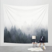 I Don't Give A Fog Wall Tapestry by Tordis Kayma | Society6