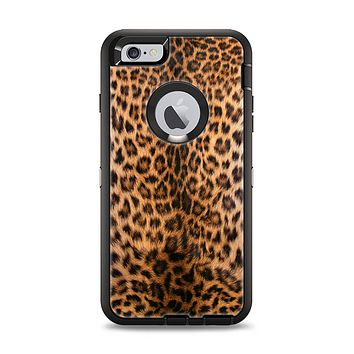 The Mirrored Leopard Hide Apple iPhone 6 Plus Otterbox Defender Case Skin Set