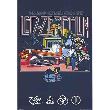 [SO] Led Zeppelin Song Remains The Same Poster 24x36