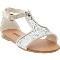 Glittery T-Strap Sandals for Baby