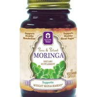 Moringa-800mg, 60 Vegetarian Capsules, Genesis Today 100% Pure Moringa Oleifera , As Seen On The View and Recommended Dr. Lindsey Duncan | deviazon.com