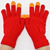 Colorblock Gloves