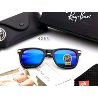 RayBan Tide brand men and women retro color film polarized sunglasses #3