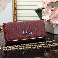Dior Women Fashion Leather Satchel Tote Shoulder Bag Crossbody
