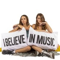 I BELIEVE IN MUSIC Pillowcases - set of 2