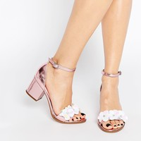 ASOS HEXAGON Embellished Heeled Sandals