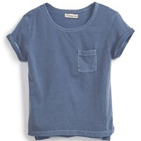 Girl's Tucker + Tate Pocket Crop Tee