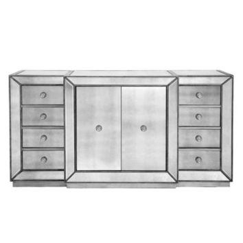 Omni Mirrored Buffet | Buffets & Cabinets | Dining Room | Furniture | Z Gallerie