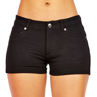 Slim Stretch Shorts | Basic Shorts at Pink Ice