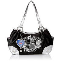 Ole Miss Mississippi Rebels NCAA Sport Luxe Hobo Bag, Football Charm, NWT