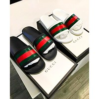 Gucci New fashion casual couple sandal slippers shoes