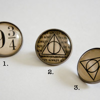 Harry Potter inspired Brooches, Pins