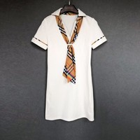 Burberry Women V-neck Tee Dress #461
