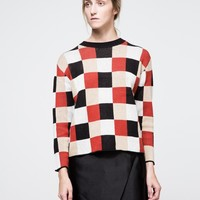 Farrow / Checkerboard Sweater