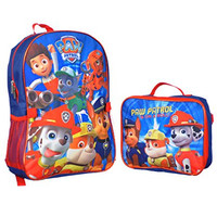 "Paw Patrol ""Doggy Heroes"" Backpack with Lunchbox - blue/red, one size"