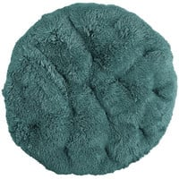Papasan Cushion - Shaggy Teal