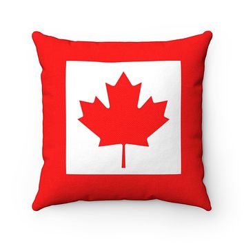 Canadian Flag Square Pillow
