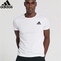 New Style Adidas Mens Shirt Sleeve T shirt 100% COTTON TOP