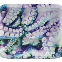 OCB Metal Rolling Tray - Octopus (Small)