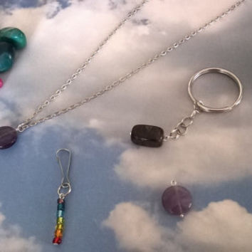 Long Distance Reiki Session 15 minute plus Keepsake charged stone or jewelry Great for child and Pets farm animal healing love positivity