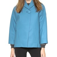 J.W. Anderson Leather Cocoon Jacket