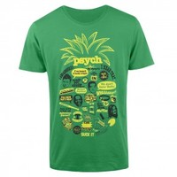 Psych Pineapple Quote Mash Up T-Shirt