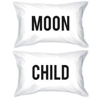 Funny Pillowcases Standard Size 20 x 31 - Moon Child