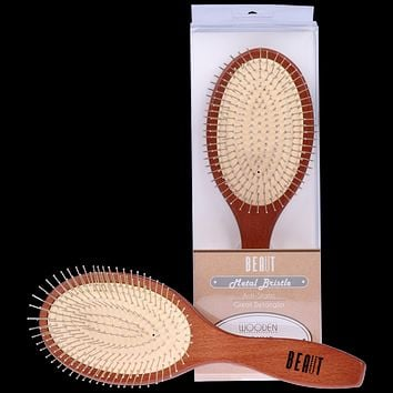 BEAUT WOODEN CUSHION BRUSH