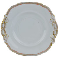 Serving Plate Moulded and Gilded Antique English Victorian 19th Century