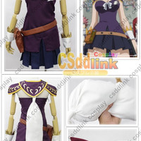 Fairy Tail Lucy Heartfilia Cosplay Costume purple version