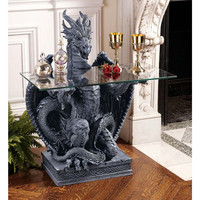 Park Avenue Collection Subservient Dragon Table