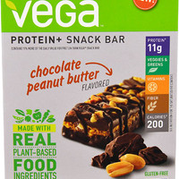 Vega Protein + Snack Bar Chocolate Peanut Butter -- 4 Bars