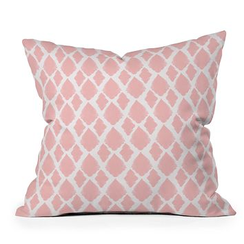 Allyson Johnson Blushed iKat Throw Pillow